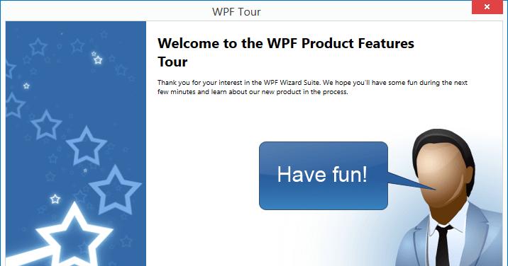 Wizard wpf